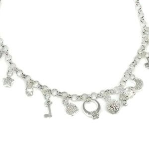 Jewelry - Sterling Silver Charm Necklace